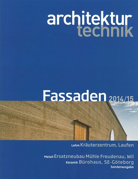 Architektur Technik<br>15-2014